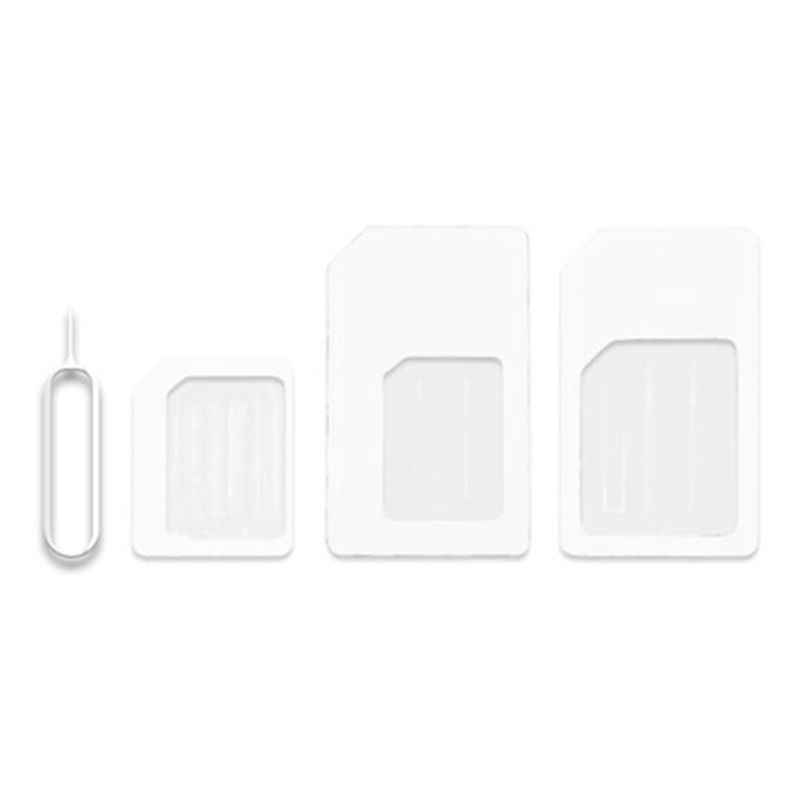4 في 1 تحويل نانو بطاقة SIM إلى مايكرو ستاندرد محول لفون ل سامسونج 4G LTE USB راوتر لاسلكي انخفاض الشحن دعم