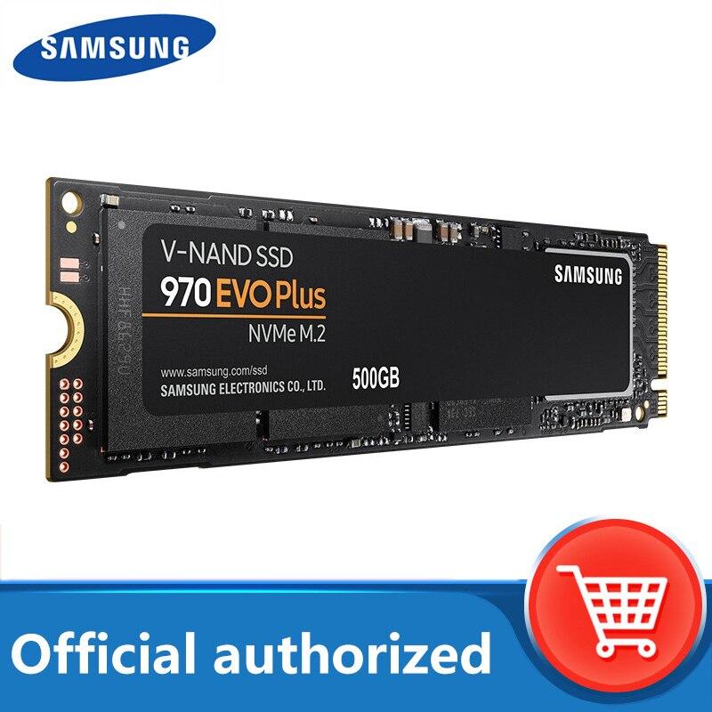 SAMSUNG M.2 SSD 1 ТБ 250 ГБ 500 970 EVO Plus NVMe wewnętrzny dysk SSD dysk twardy M2 2280 TLC PCIe Gen 3,0x4 NVMe 1,3