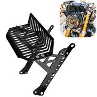 Rninet rack superior do farol da motocicleta frente superior bagagem suporte de montagem em rack para bmw r nove t scrambler puro r9t preto