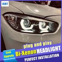 Scheinwerfer Für BMW 1 Serie F20 2017 2020 LED/Xenon Abblendlicht Fernlicht LED tagfahrlicht sequential blinker 1 Paar