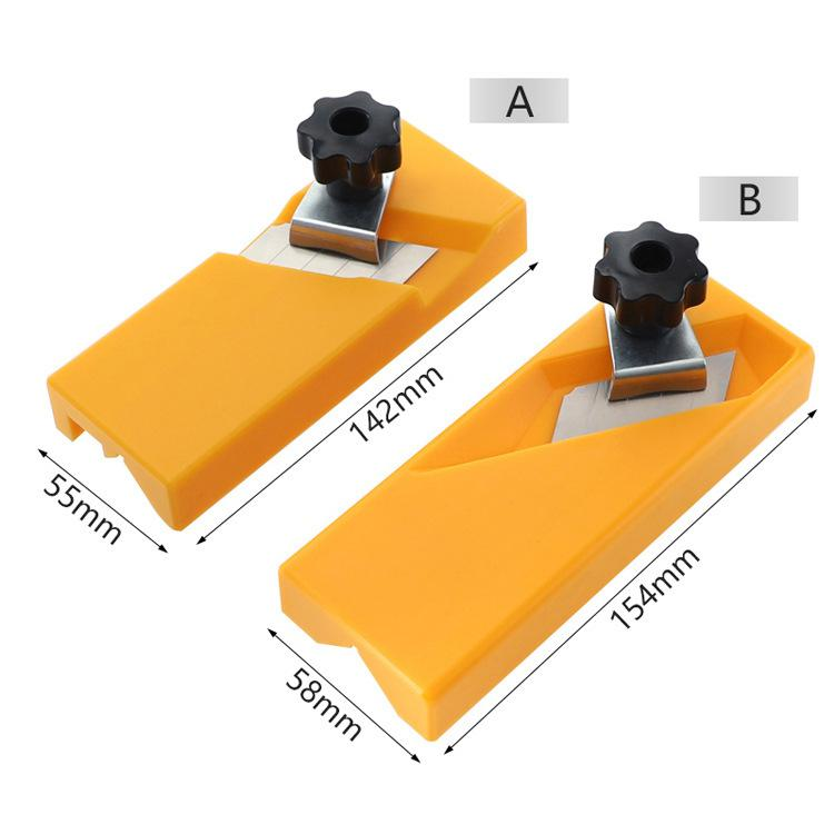 Gypsum Board Hand Plane Plasterboard Planing Tool Flat Square Drywall Side Chamfer Woodworking Tool