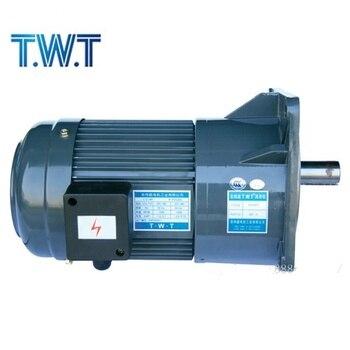 цена на 220v380v brush magnetic 3 phase 1/4hp 1/2hp1hp 2hp 3hp electric AC small gear motor