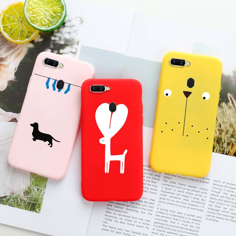 Silicone <font><b>Case</b></font> For <font><b>OPPO</b></font> Realme 3 2 Pro X Lite A5s A3s <font><b>A33</b></font> A37 A39 A59 A57 A71 A79 A83 F11 F3 F7 F9 K1 K3 R11S Plus Reno Z <font><b>Cases</b></font> image
