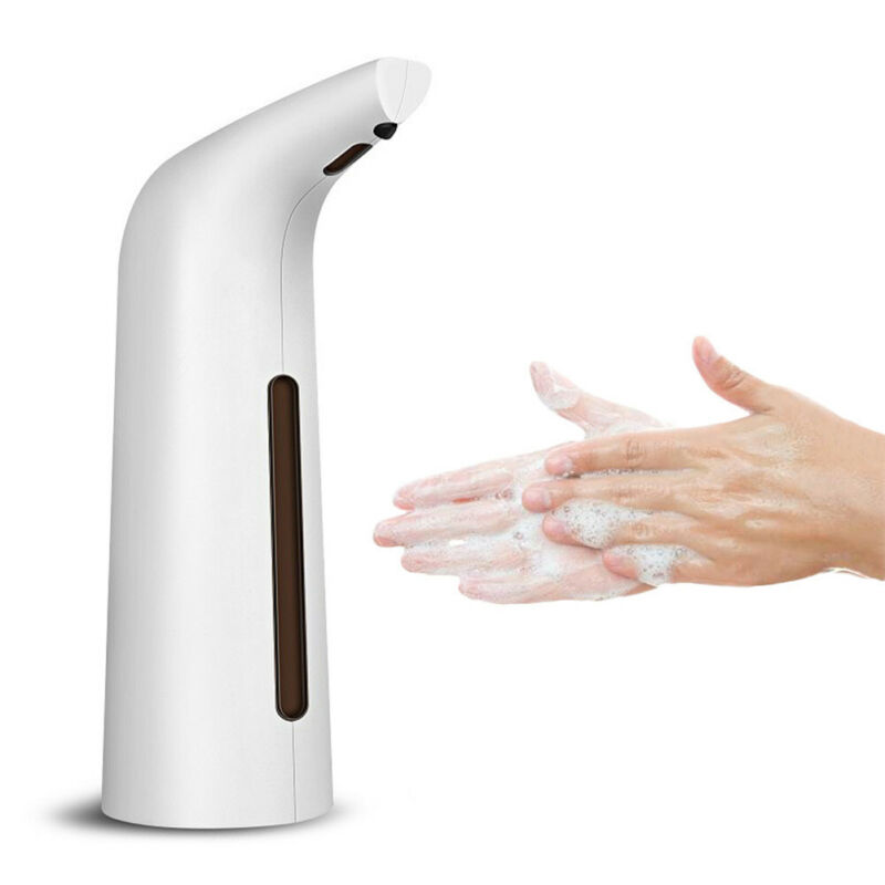 Automatic Liquid Soap Dispenser Smart Sensor Touchless ABS Electroplated Sanitizer Dispensador For Kitchen Bathroom 400ml