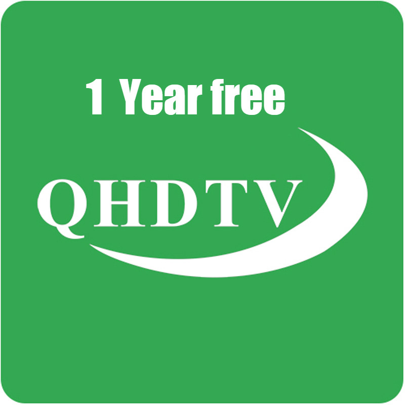 1 Year QHDTV IPTV Code Abonnement Dutch Arabic <font><b>Belgium</b></font> Spain USA Canada IPTV M3U for PC Smart tv Android box no app included image