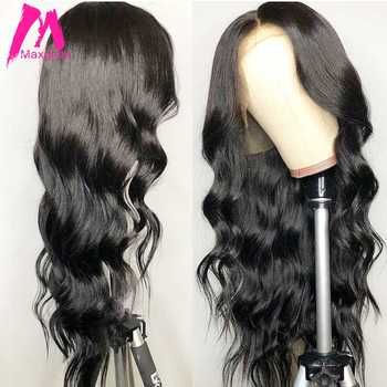 Body wave lace front human hair wigs for black women brazilian Lace Front wig preplucked with baby hair 13x4 130 density - DISCOUNT ITEM  49% OFF All Category