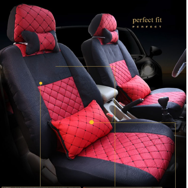 Universal car seat cover For Renault Koleos megan Nuolaguna latitude wind Lang landscape black/beige/gray/red car accessories