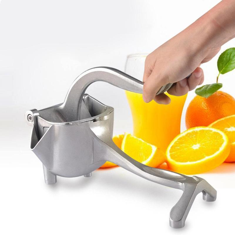Mini exprimidor de frutas, prensa Manual para el hogar, exprimidor Manual de limón, naranja, Lima, zumo fresco, máquina exprimidora para el hogar|Exprimidores manuales|   - AliExpress
