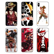 For Huawei G7 G8 P7 P8 P9 Lite Honor 4C 5X 5C 6X Mate 7 8 9 Y3 Y5 Y6 II 2 Pro 2017 Japan One Piece Monkey D Luffy Silicone Cover(China)