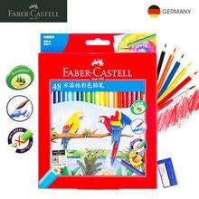 Andstal 72 Colori FABER-CASTELL Professionale Disegno Ad Acquerello Matite di Colore aqua colorato set matita di colore per il disegno di Legno