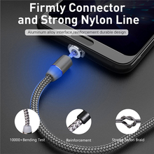 2 szt Ładunek magnetyczny kabel USB C do iPhone 12 11 Samsung S21 ładowarka magnetyczna dane Micro USB typ C kabel przewód do telefonu komórkowego tanie tanio Oklarich NONE LIGHTNING TYPE-C 2 4A CN (pochodzenie) Magnetyczne Ze wskaźnikiem LED