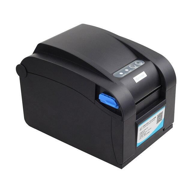 Xprinter 80mm Thermal Label Printer 20mm-80mm Barcode Sticker Printer Bluetooth Printer 365B 370B 330B LAN Bluetooth USB 5