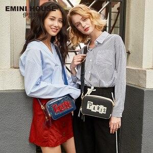 Image 5 - EMINI HOUSE Paris bandoleras de charol con solapa para mujer, bolsos de hombro, bolsos de mensajero