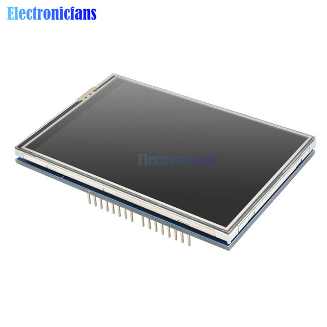 """3.5"""" 3.5 inch 480*320 TFT LCD Module Screen Display R61581 Controller for Arduino UNO MEGA2560 Board with/Without Touch Panel 4"""