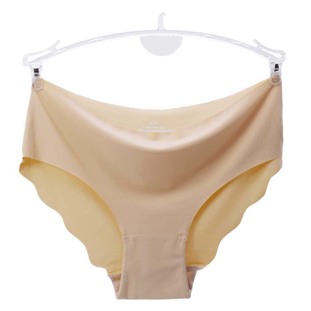 Wanita Low-Rise Ruffles Ultra Tipis Celana Dalam Seamless Celana Dalam Pakaian Dalam Seksi Padat Celana Lingerie 3 Pcs/lot Drop Pengiriman