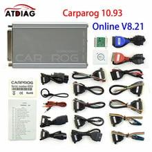 Carprog V8.21 Online V10.93 Auto ECU Chip Tuning Full Universal Car Prog Repair Tool Carprog 8.21 Free Keygen Online Programmer