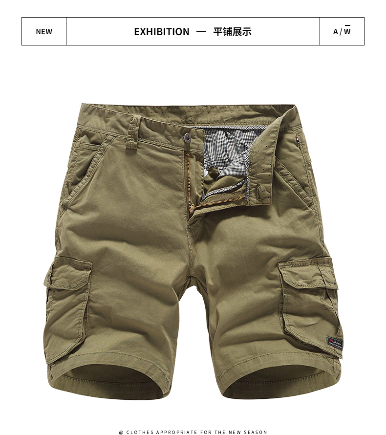 Pantalones Cortos De Carga Verde Militar Estilo Ingles Para Verano Pantalones Cortos De Lavado Ajustados Informales Para Hombre Talla 28 38 Verde Militar Linio Peru Un055fa0srzj7lpe