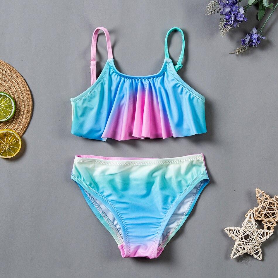 SWIMIFY Bikini Girl 2020 New Fashion Swimsuits For Girls Biquini Swimwear Set Kids Girls Lovely Beach Bathing Swimsuit