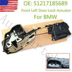 51217185689 przedni lewy łagodne zamykanie napęd zamka drzwiowego dla BMW M5 F10 F01 528i 530i 740i części samochodowe 51 21 7 185 689|Osłony zabezpieczające zamek|Samochody i motocykle -