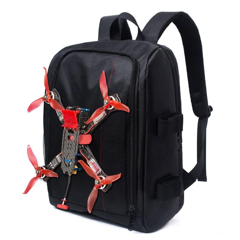 FPV Racing Backpack Bag 45cmx32cmx20cm With Waterproof Transmitter Beam Port Bag DIY Room For RC Drone FPV Racing Nazgul5 X220