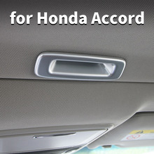 For Honda Accord 10 2018 2020 Sunroof Open Handle Stickers Sequins Accord Interior Modified Decorative Accessories цена 2017