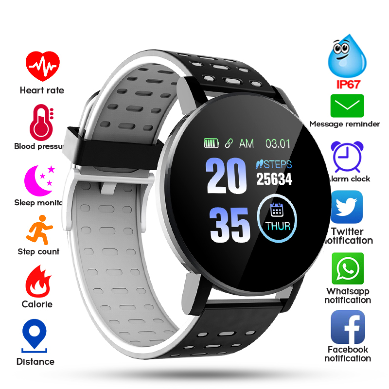 2020 Bluetooth Smart Watch Men Blood Pressure Smartwatch Women Watch Sport Tracker WhatsApp For Android IOS Smart Clock 1