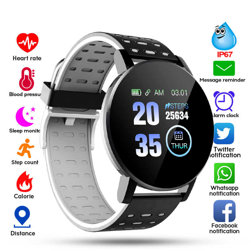 2020 Bluetooth montre intelligente hommes tension artérielle Smartwatch femmes montre Sport Tracker WhatsApp pour Android IOS horloge intelligente