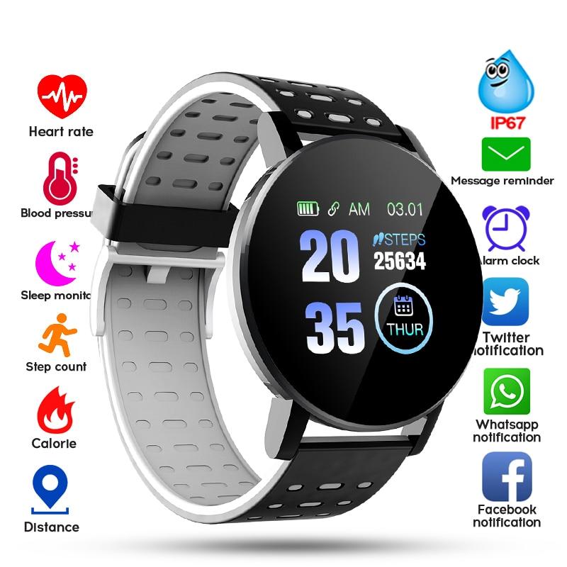2020 Bluetooth Smart Watch Men Blood Pressure Smartwatch Women Watch Sport Tracker WhatsApp For Android IOS Smart Clock(China)