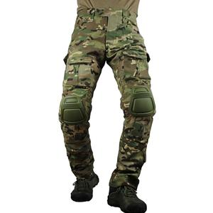 Image 4 - zuoxiangru Mens Multicam Tactical Pants Multi Pockets Military Camo Outdoor Airsoft Combat Hunting Pants with Knee Pads