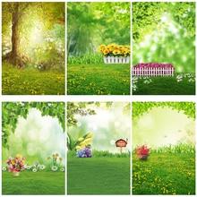 Yeele Dreamy Baby Portrait Grassland Сказочный фон для фотосъемки фоны для фотостудии Фотофон