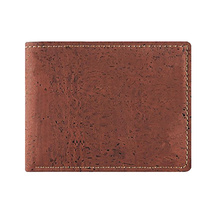 mens wallet purse ZF-712-2 high quality cork portugal men made in guangzhou china