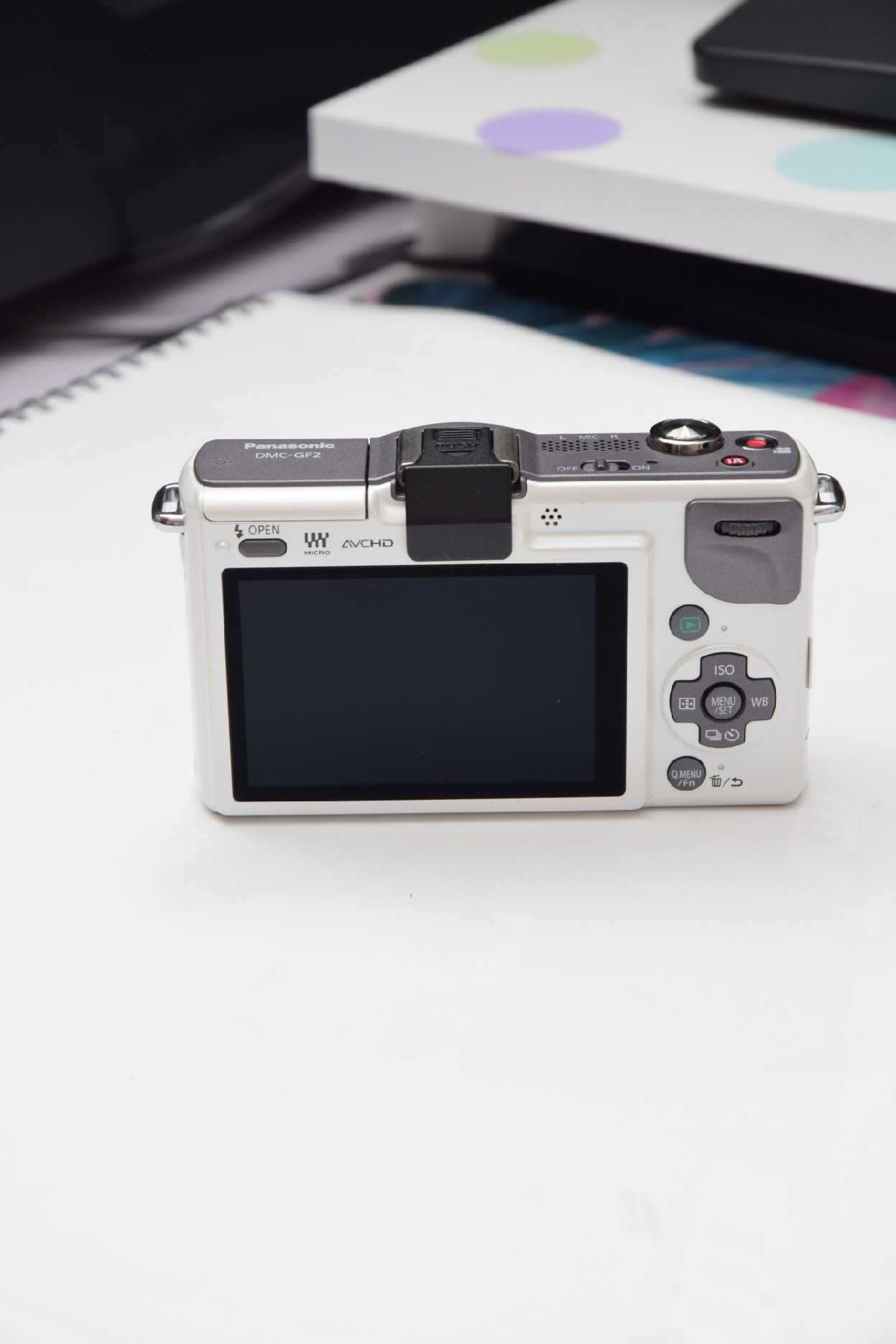 H5c7d80561bd04b29931a7aafeaf686cct USED,Panasonic GF2 12.1MP  Digital Camera with 3-inch LCD(NO LENS OR WITH LENS)