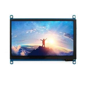Pantalla táctil de 7 pulgadas, resolución de 1024x600, pantalla LCD, monitores HDMI TFT, compatibles con Raspberry Pi UND Sale