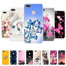 For Huawei P9 Lite Mini Case Huawei P9Lite Mini Silicone Soft Cover For Huawei P9 Lite Mini 2017 Cover Coque Bumper Phone Case