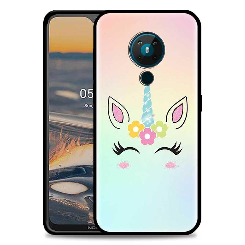 Cute Unicorn Phone Case For Nokia 5.4 1.4 7.2 5.3 2.3 3.4 3.2 4.2 2.4 8.3 5G TPU Phone Cover Luxury Coque Capa Shell Caso Fundas