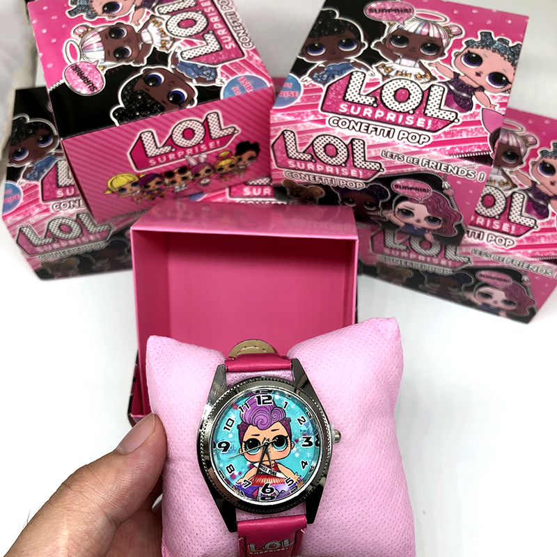 LOL Surprise Dolls Lols Dolls Silicone Lol Watch Child Quartz Wrist Random Color Random 1pcs Cartoon Girl's Watch Gift Toy