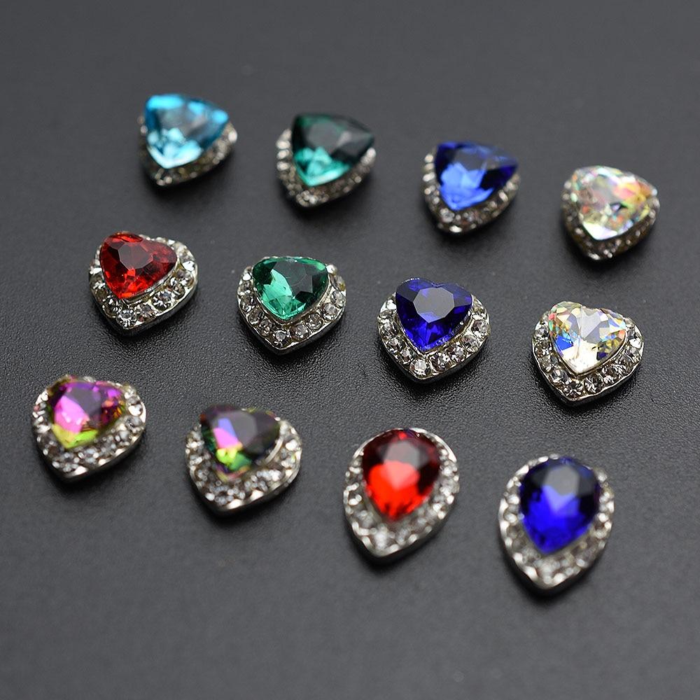 Купить новинка 10 шт блестящие украшения для дизайна ногтей