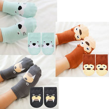 Short Socks Girl Ankle Animal Toddler Baby Cotton Cartoon Summer New Boy Thin Party Stereo