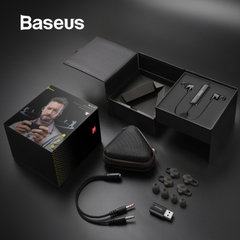 Baseus H08 3D Surround Gaming Earphone For PUBG Controller Designed to Capture Every Key Sound Detail and Position in a 3D Space