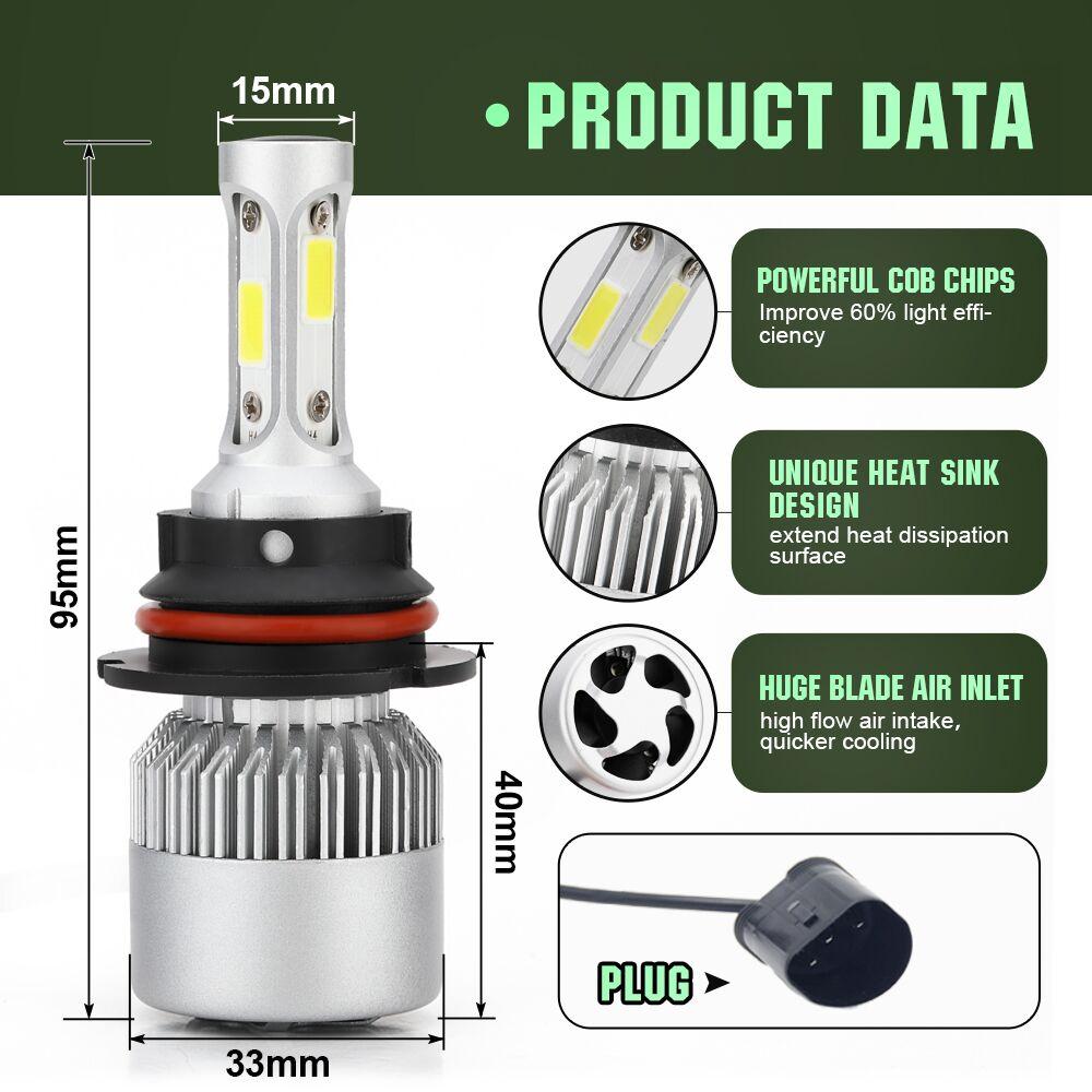 9007-6双灯-模板-产品特点