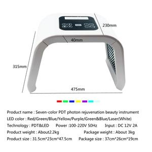Image 3 - BeeRuddy spectromètre pliant, dispositif de thérapie pour le rajeunissement de la peau, dispositif Anti acné, masque Facial lumière Led Anti rides