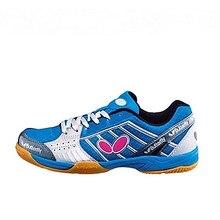 Мужская обувь для настольного тенниса; Цвет черный, синий; мужские нескользящие спортивные кроссовки для тенниса; обувь для пинг-понга на резиновой подошве со шнуровкой