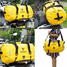 Motorfiets Waterdichte Tail Bag Reizen Outdoor Droog Bagage Roll Pack Tas 40/66/80/90L Motorbike Bagage rugzak Motorfiets Seat