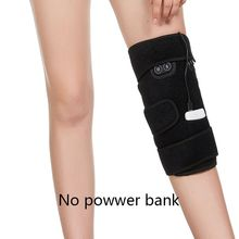 Massage Fever Knee Pads Usb Charging 5v Electric Moxibustion Hot Compress Physiotherapy Old Cold Legs Warm Knee Pads infrared knee pads moxibustion joints warm electric heating leggings waist leg heath care chinese massage r4