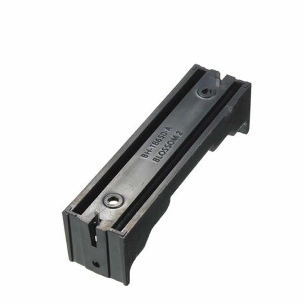 Mosunx البلاستيك حامل البطارية صندوق تخزين ل 18650 بطارية قابلة للشحن 3.7 فولت DIY بها بنفسك البلاستيك حامل البطارية صندوق تخزين