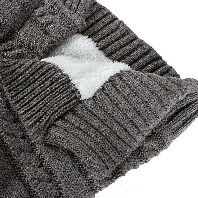 Warm Baby Blanket Soft Baby Sleeping Bag Footmuff Cotton Knitting Envelope Newborn Swaddle Wrap Sleepsacks Stroller Accessories 5