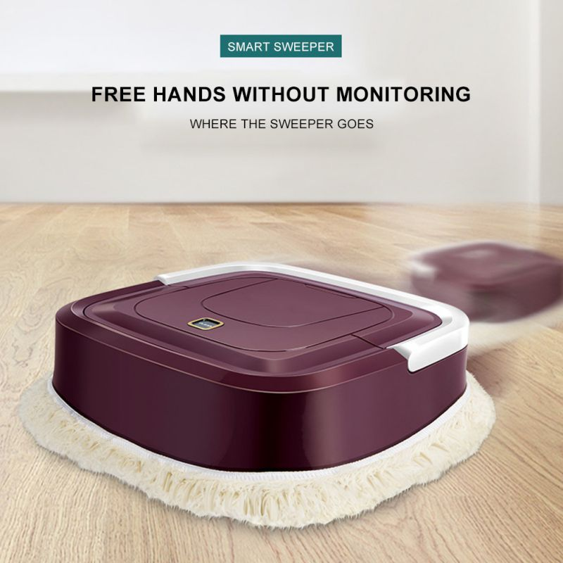 Multifunctional Robot Vacuum Clear 3 In 1 Auto Rechargeable Smart Sweeping Robot Sweeping Vacuum Clear Home Supplies ZL|Cleaning Cloths| |  - title=