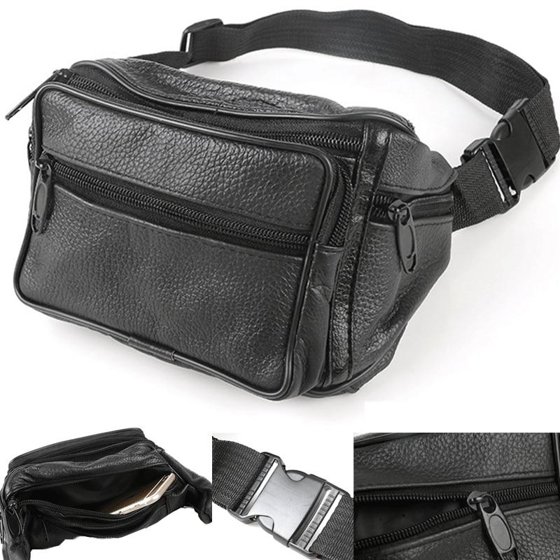 NEW LIGHTWEIGHT BLACK TRAVEL MONEY BELT BUM BAG TRAVEL HOLIDAY BAG WAIST BAG