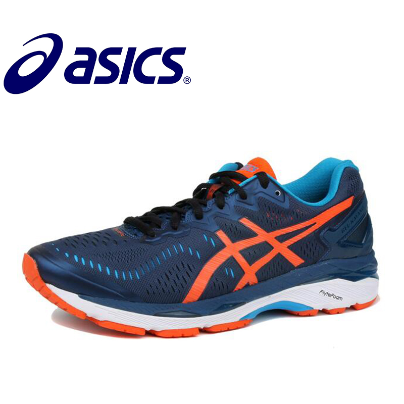 ASICS GEL-KAYANO 23 Asics 2018 New Hot Sale Man's Cushion Stability Running Shoes ASICS Sports Shoes Sneakers GQ  Gym Shoes Men