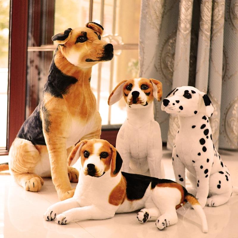Плюшевое животное, имитация плюша, овчинка, Симпатичная плюшевая собака, подарок на день рождения для детей, рекламный талисман, 90 см